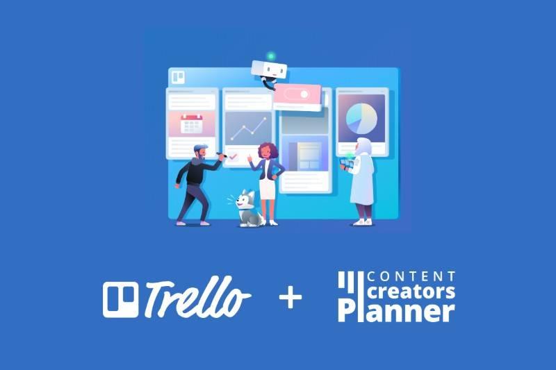 Trello for Content Creators Planner